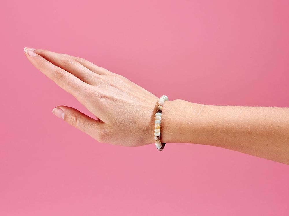Mala/Armband Amazonit